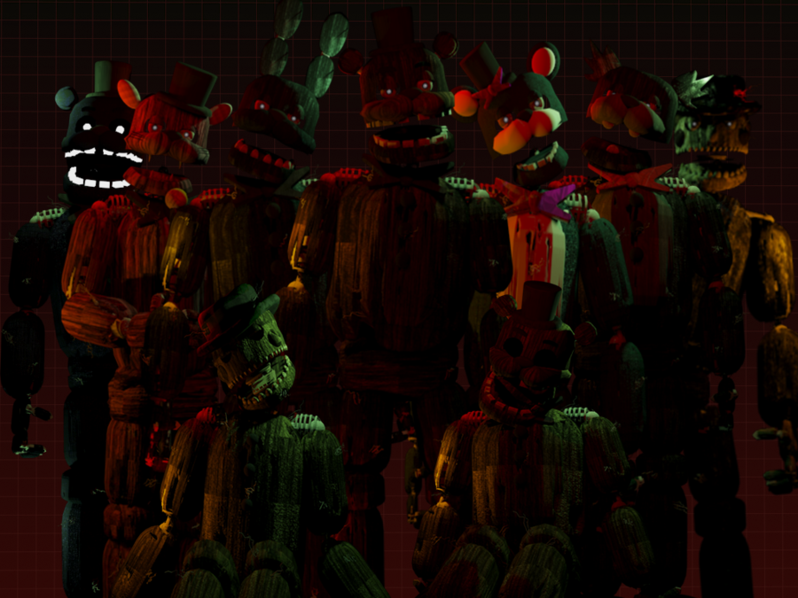 The Return To Freddy S 5 Unfinished Version Trtf 5