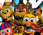 Nightmare Freddy in FNAF World