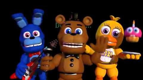 FNAF World Teaser Trailer (Scott Cawthon)