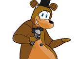 Freddy Fazbear (Club Penguin)