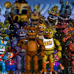 In the 12th version, the background got lighter, Phantom Balloon Boy was introduced Phantom Chica moved, Foxy moved, the Puppet changed, Nightmare Freddy changed and Plushtrap changed.
