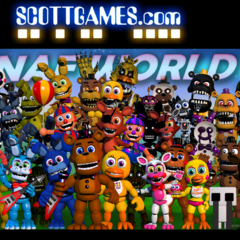 ScottGames.com point of view with Adventure Freddy in the teaser.