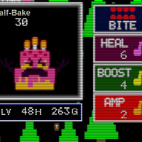 Half-Bake when encountered
