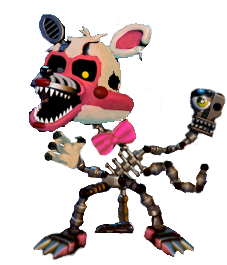 Original Withered Toy Nightmare Jack O Funtime Candy The Cat