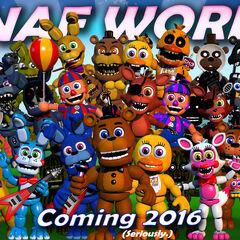 Toy Freddy in FNAF world teaser.