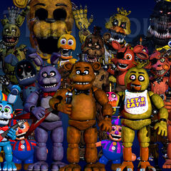 This image introduced Phush Endoskeleton and Toy Foxy. The only animatronic to change was Withered Bonnie.