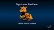 Nightmare fredbear load