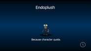 Endoplush load