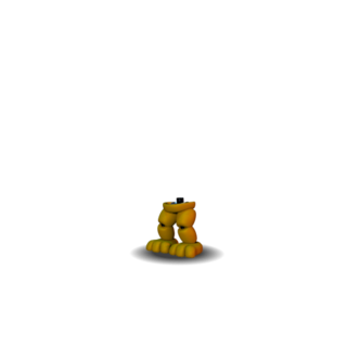 Adventure Fredbear's legs