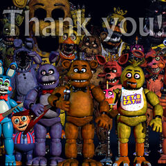 The second image uploaded saw a change to the endoskeleton behind Toy Freddy.