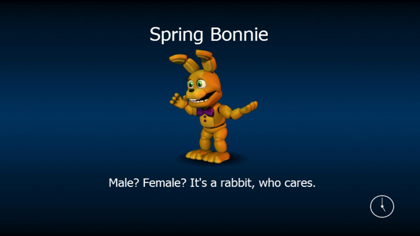 Adventure Spring Bonnie Five Nights At Freddy S World