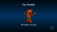 Toy freddy load