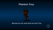 Phantom foxy load