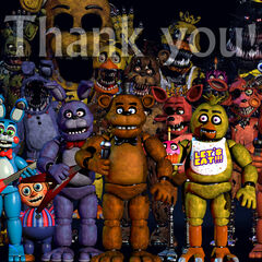 The third change saw the endoskeleton behind Toy Chica/Withered Freddy change.