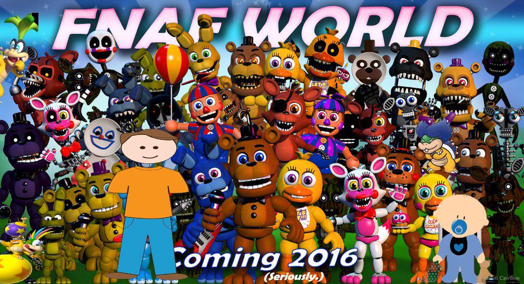 Скачать игру fnaf world(фнаф ворлд) на андроид полная версия.