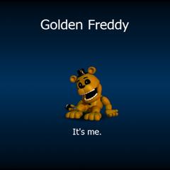 Golden Freddy's loading screen