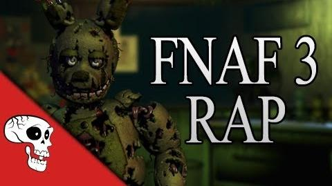FNaF 3 Rap 'Another Five Nights' (JT Machinima) Lyrics