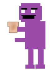 PurpleGuy likes toas