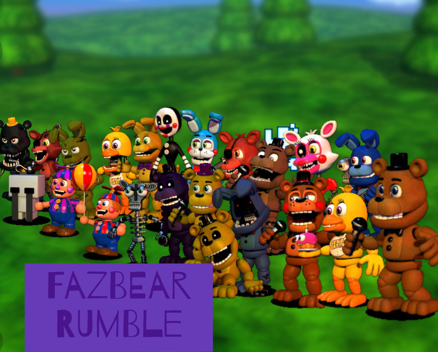 User blog:MarioVsSonicFan/FNAF World Fan Game | Five Nights at