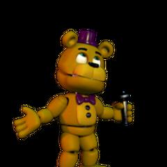 Fredbear Talks Halloween Update 5