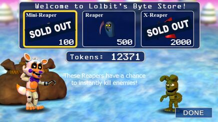 Lolbit Store Dusting Fields