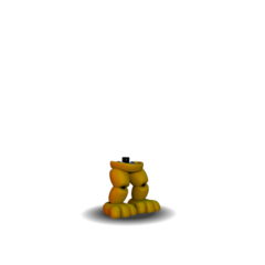 Fredbear body exploded