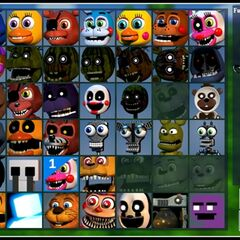 Mangle in character select menu (Party Creation) in Update 2