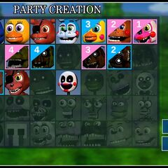 Mangle in the character select menu (Party Creation) in update 2