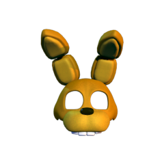 Spring Bonnie's face on the move Springlocks