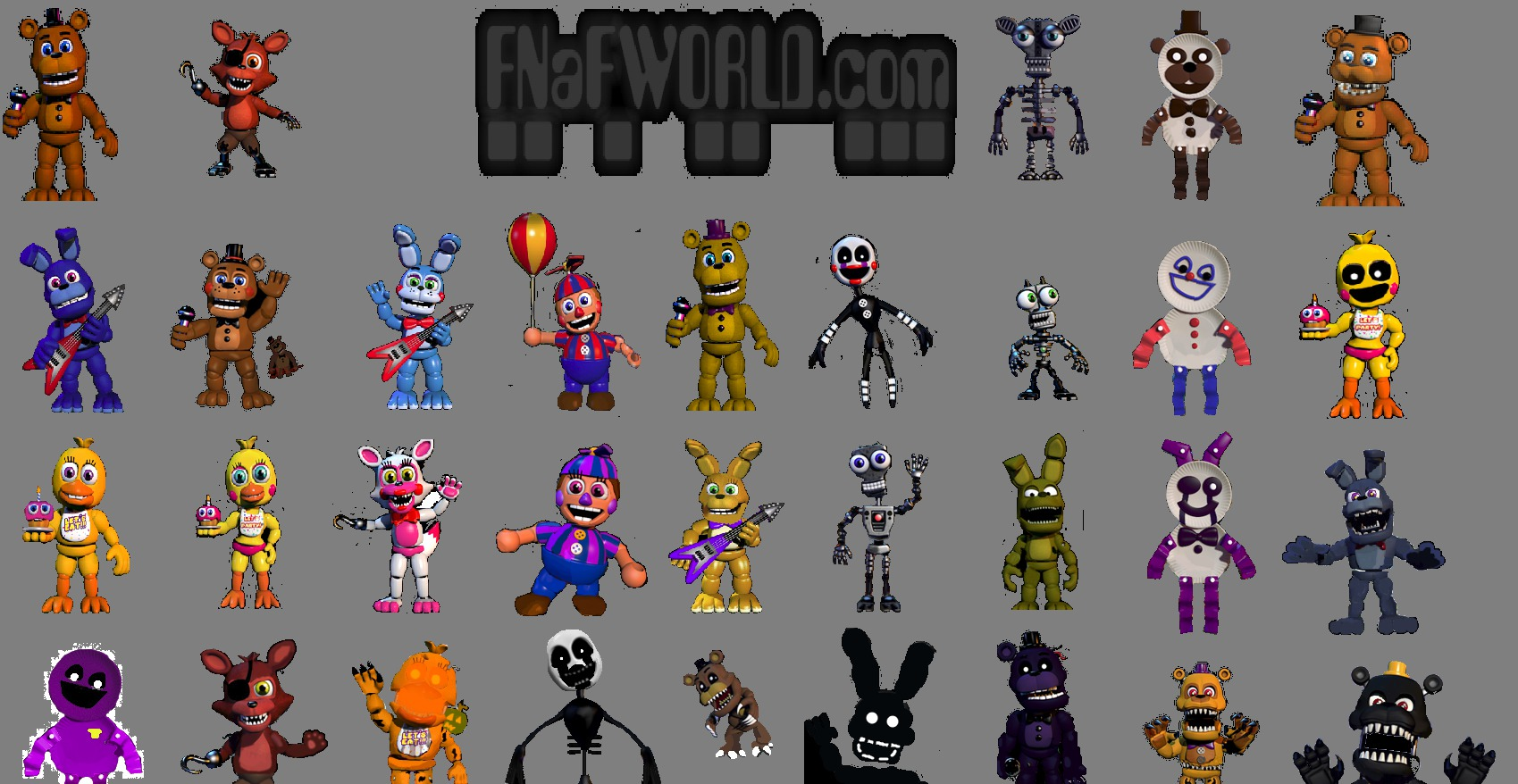 Image - FNAF World Background.jpg | Five Nights at Freddy's World ...