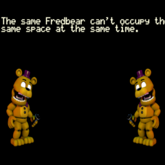 What happens if two Fredbears collide.