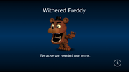 Withered freddy load