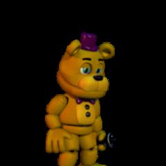 Fredbear Talks Halloween Update 1