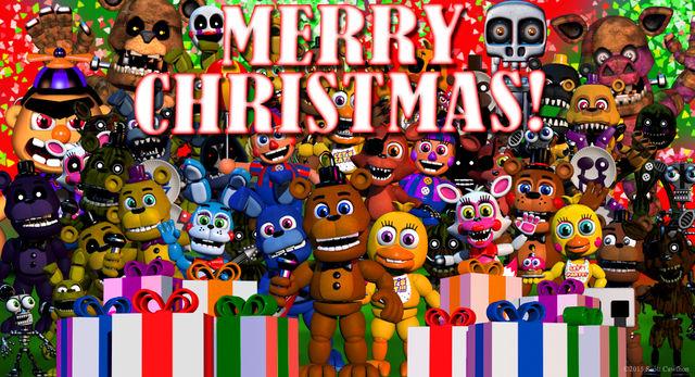 File:FNAF World Christmas.jpg