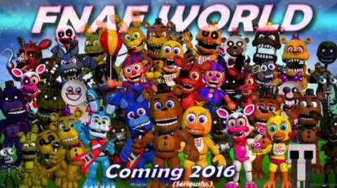FNAF WORLD - Coming 2016