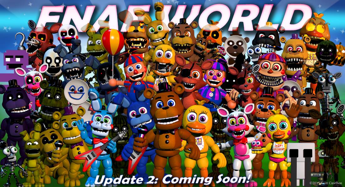 Adventure Nightmare Balloon Boy | Five Nights at Freddy's World ...