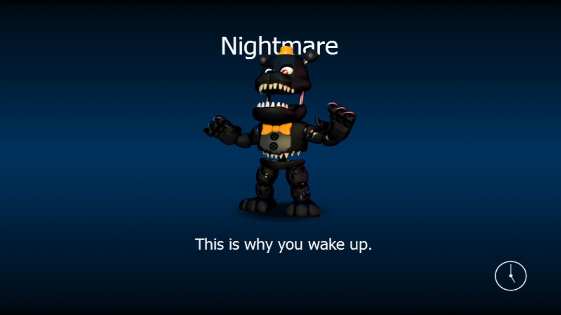 Adventure Nightmare Five Nights At Freddy S World Wikia