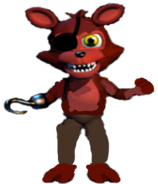 Adventure Unwithered Foxy