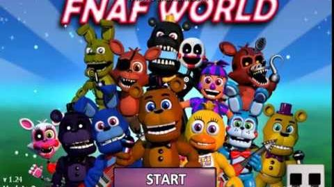 FNAF World - How to get to Halloween Backstage