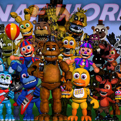 This version shows a few slight moves of some animatronics, all 3 Paper Plate Pals are introduced, the Crying Child is introduced and Original Chica Changes.