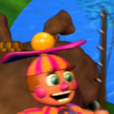 DeeDee in DeeDee's Fishing Hole