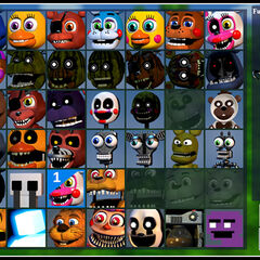 Adventure Jack-O-Bonnie in the Party Creation screen.