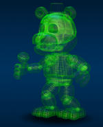 Virtual Freddy Personaje