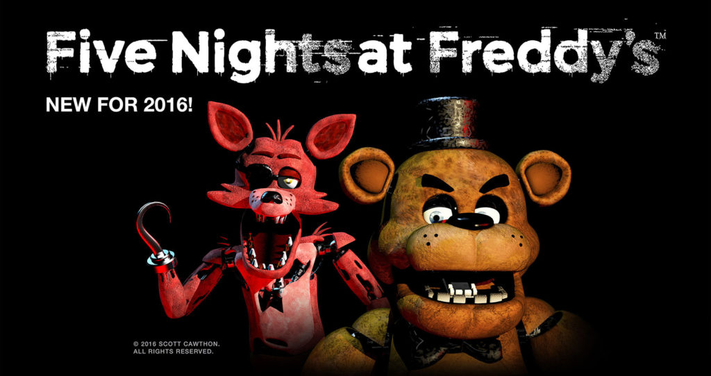 Five Nights At Freddys Fright Dome