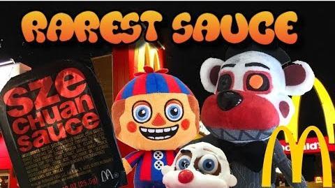 FNaF6 Plush- The McDonald's Sauce
