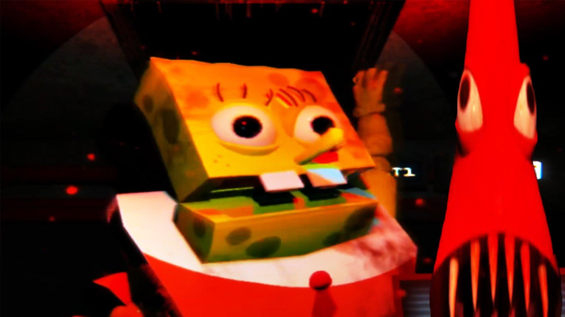 Frame from Spongebob's Jumpscare