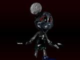 Hell-Bound Photo-Negative Mickey