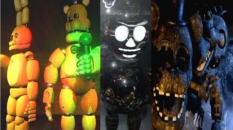 FINAL NIGHTS 2 ALL ANIMATRONICS MUSEUM EXTRA