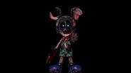 Nightmare Photo-Negative Mickey