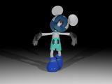 Photo-Negative Mickey